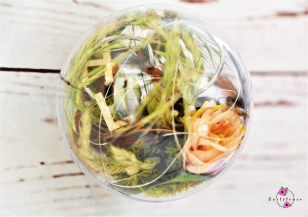 Hängekugel mit Blumen 10cm