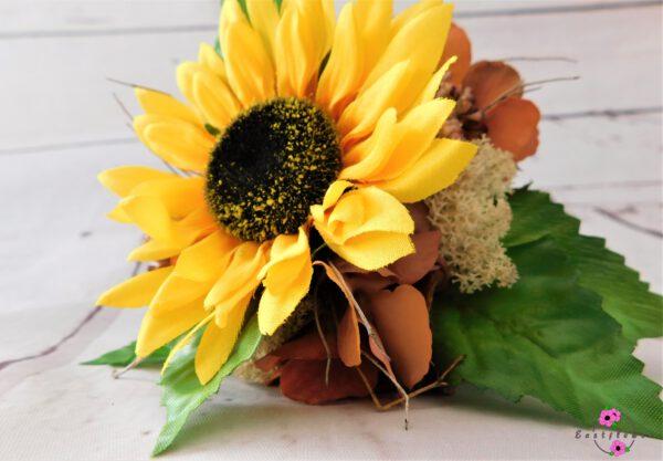 Künstlicher Sonnenblumenstrauß