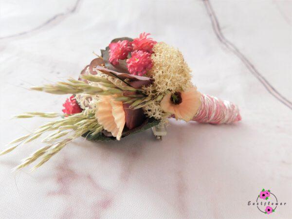 Revers-Anstecker mit apriko Dekoration